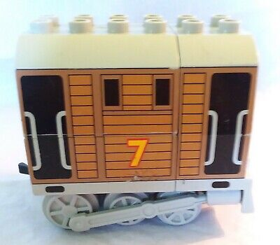 Lego Duplo Toby the Engine Tram #7 good used condition