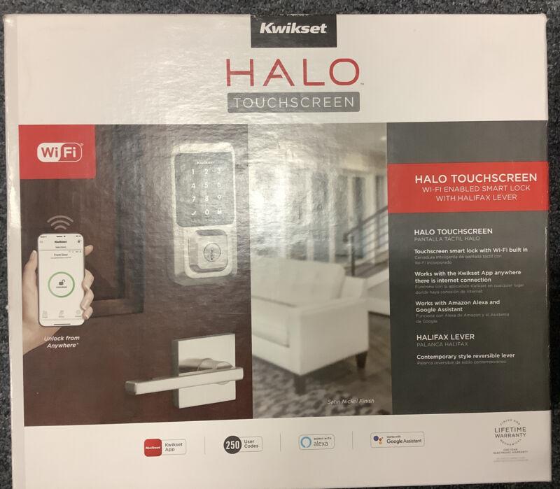 Kwikset 99690-015 Halo Wi-Fi Enabled Smart Lock - Touchscreen -  J09