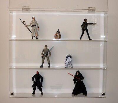Collectors Showcase - Premium Display Case for Star Wars Black Series - T2MS