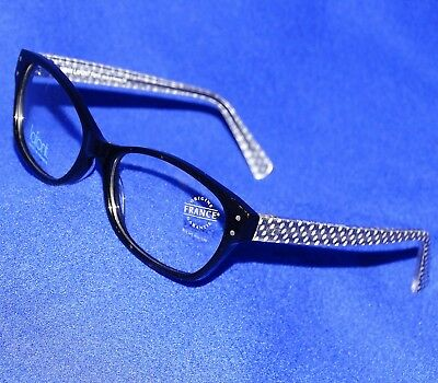 NEW JEAN LAFONT SIRENE GIRLS PETITE CAT EYE 100 BLACK ACETATE EYEGLASSES FRAMES