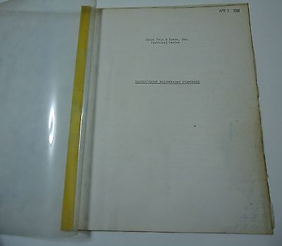 Eaton Yale & Towne Technical Design Group Engineering Standards 1968 Booklet