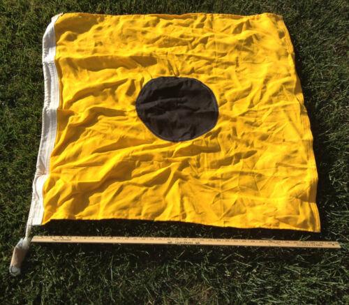 "USCG USN Regulation 35"" x 35"" Signal Pennant Flag - Coming Alongside"