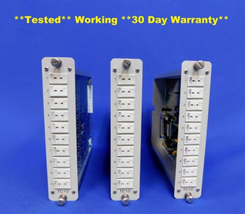 ASM TC10 Thermocouple Input Module for AstroDAQ Data Acquisition System Set of 3