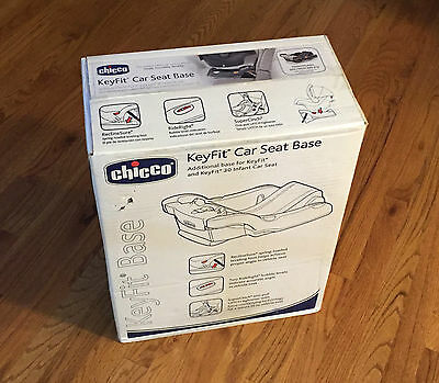 New Chicco KeyFit 30 Infant Car Seat Base Anthracite July 2022 Free Ship