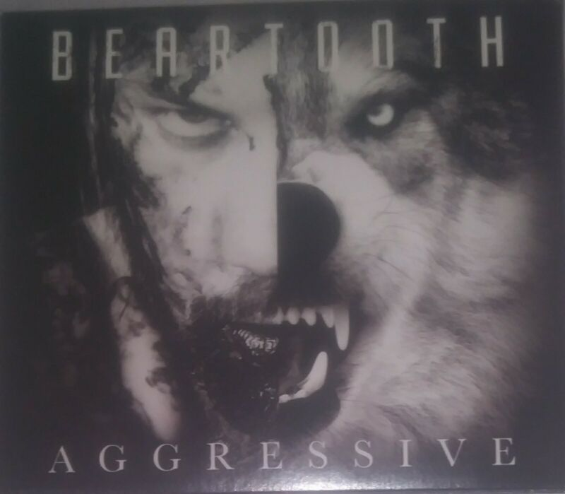 Beartooth Aggressive CD autographed Signed