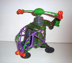 Rare vehicule tortues ninja tmnt helicoptere 18x20cm ebay - Vehicule tortue ninja ...