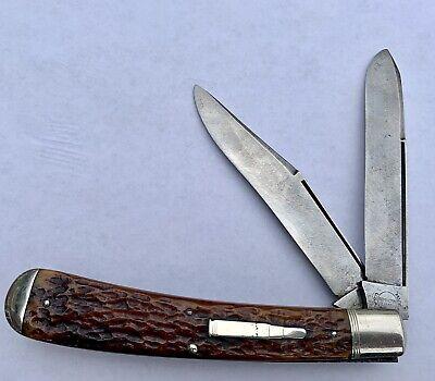 REMINGTON UMC BULLET KNIFE HTT TRAPPER R293