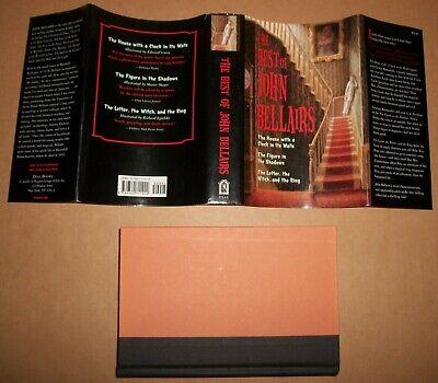 Best of John Bellairs horror mystery 1st FE hardcover Dial Penguin books 9.95