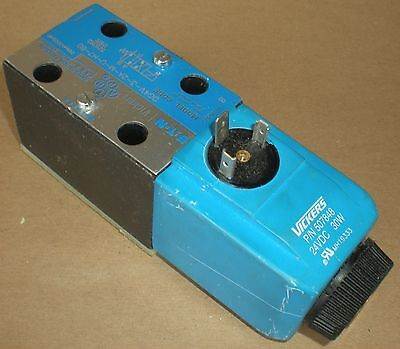 ELECTRICAL SOLENOID OPERATED DIRECTIONAL VALVE EATON VICKERS DG4V-3-2A-M-U-H7-60