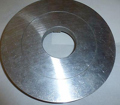 runde Platte rund Scheibe Ersatzteil Aluminium Alu  ✿  für Bastler mit Öffnung
