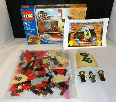Lego Orient Expedition 7416 - Emperor's Ship - COMPLETE w/ Box