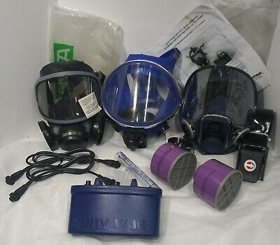 Powered Purifying Respirator Papr Survivair Msa 456975 Respirator Ultra Twin