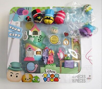 NEW Tsum Disney Mad Hatter's Shop Set Alice Wonderland Cheshire Evil Queen Lot - Evil Mad Hatter