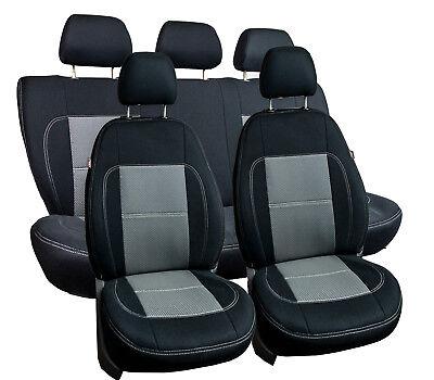 Autositzbezüge Sitzbezüge Maßgefertigt für VW Passat B8 Erjot Grau  Passat Autositzbezüge