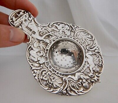 English 1942 Sterling Silver Tea Strainer - 83867
