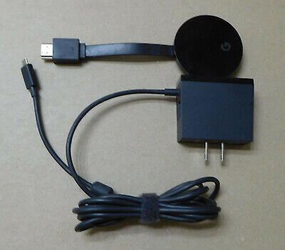 Genuine Google Chromecast NC2-6A5-D Digital Media Streamer