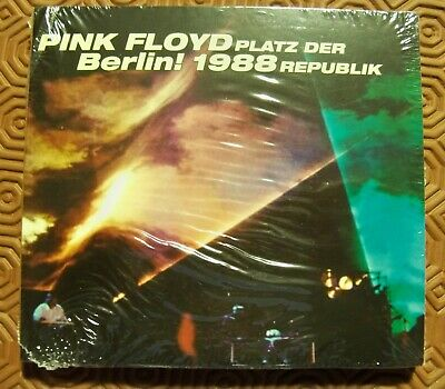 """PINK FLOYD """"PLATZ DER REPUBLIK WEST BERLIN! 1988 """" RARE DOUBLE DIGIPACK CD CM827"""