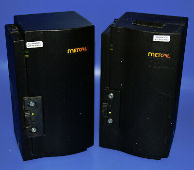 Lot Of 2 Metcal Smartheat Mx-500p-11 Rework System Power Supply Barely Used