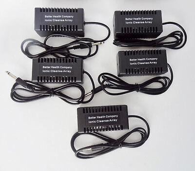 5 BHC Ionic Foot Detox Rectangular High Grade Steel Plate arrays.  Better