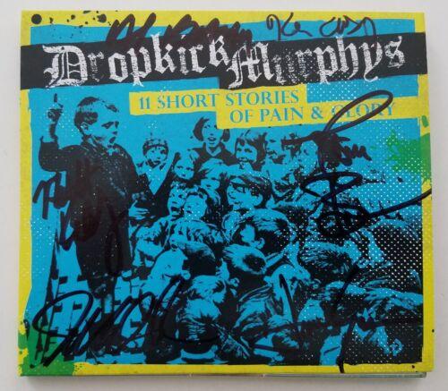 Dropkick Murphys Signed 11 Short Stories Of Pain & Glory CD Digipak Complete RAD