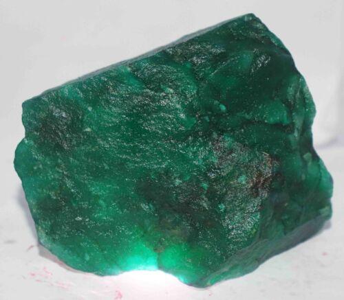 Holiday Sale 6230 Ct Certified Natural Green Emerald Huge Gemstone Rough JUN1450