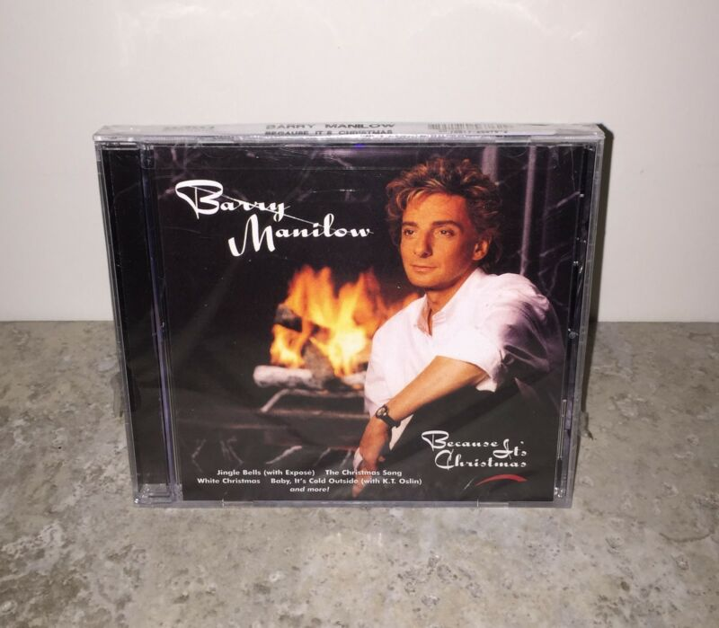 Factory Sealed Because It's Christmas by Barry Manilow CD!