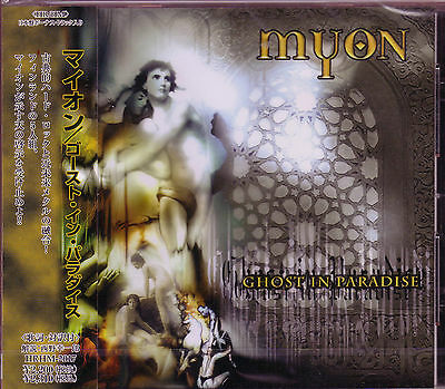 Myon Ghost In Paradise   1 Japan Cd 2003 2Nd Finland Melodic Heavy Metal