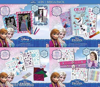 Disney Frozen Mega Pack Malsachen Bastelsachen Sticker Eiskönigin Anna Elsa 0687