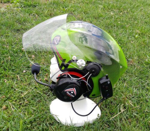 Helmet for Paramotor Pilots
