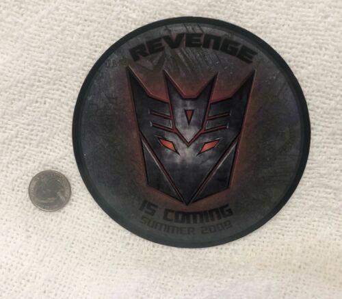 2009 Transformers Revenge Of The Fallen Promo Magnet