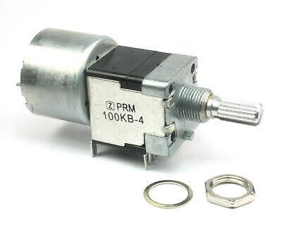 Prm Dual Linear Motorized Potentiometer 100k Ohm Taper 5vdc Motor