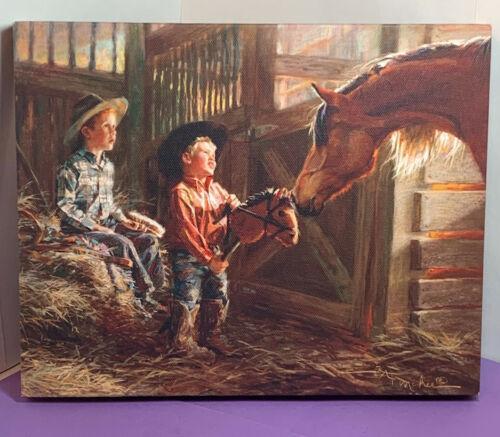 Kathy Fincher, Whoa, 10 x 8 Wall Art, Western Art, Kids, Horse