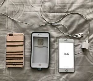 APPLE IPHONE 6S PLUS ROGERS 16BG WHITE. ONLY 450$ FOR ALL!