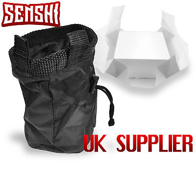 Senshi Japan Weight Lifting Rock Climbing Chalk Powder Bag With FREE Chalk Block