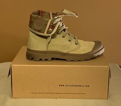 Palladium Men's Boots - Stone DK Khaki -  Size 8.5