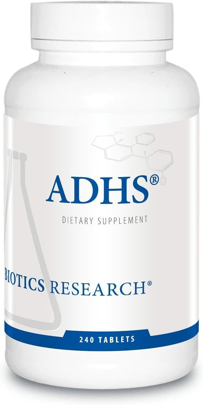 Biotics Research ADHS 240 tablets Expiration 08/2021