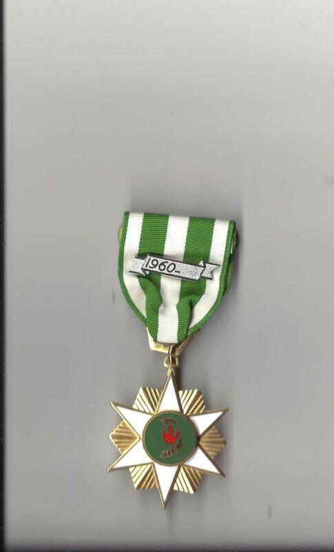 Vintage Vietnam Campaign Award medal with 1960 device VN Era medal