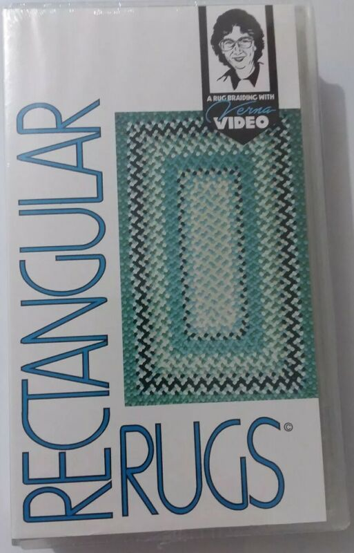 Rectangular Rug Braiding VHS Instructional Video by Verna Cox