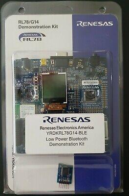 Renesas Rl78 G14 Low Power Bluetooth Demonstration Kit Yrdkrl78g14-ble