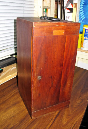 Bausch & Lomb Stereo Microscope in wooden box Antique!