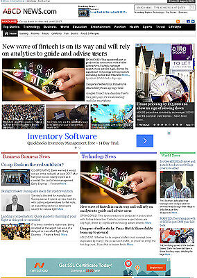 Fully Automated Wordpress News Website -autopilot Seo Ready Website