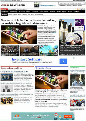 Fully Automated Wordpress News Website Autopilot Seo Ready Free Hosting