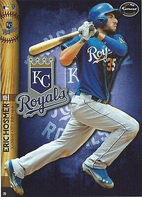 ERIC HOSMER KANSAS CITY ROYALS FATHEAD TRADEABLES REMOVABLE STICKER 2014 - Kansas City Royals Stickers