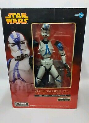 Star Wars Kotobukiya ArtFX Clone Trooper Ep III Version 1/7 Scale Vinyl Figure