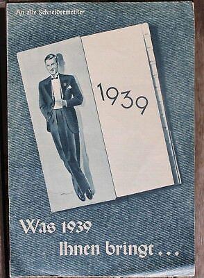 5755 Mode Prospekt Was 1939 Ihnen bringt - an alle Schneider-Meister Rundschau