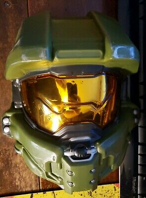 2015 Halo Master Chief Mask Halloween Costume Cosplay - Halo Master Chief Maske