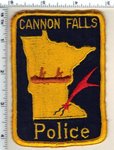 Cannon Falls Police (Minnesota)  Shoulder Patch  - new from 1991