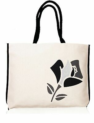 Wholesale Lot of Lancome Beauty Canvas Tote Bag Choice of Black or Red Rose  - Tote Bag Wholesale