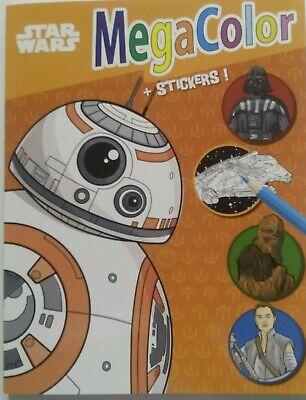 Star Wars Malbuch für Kinder XXL 128 Motive ()
