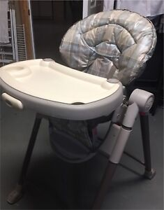 High chair like new.  Folds up for easy carrying